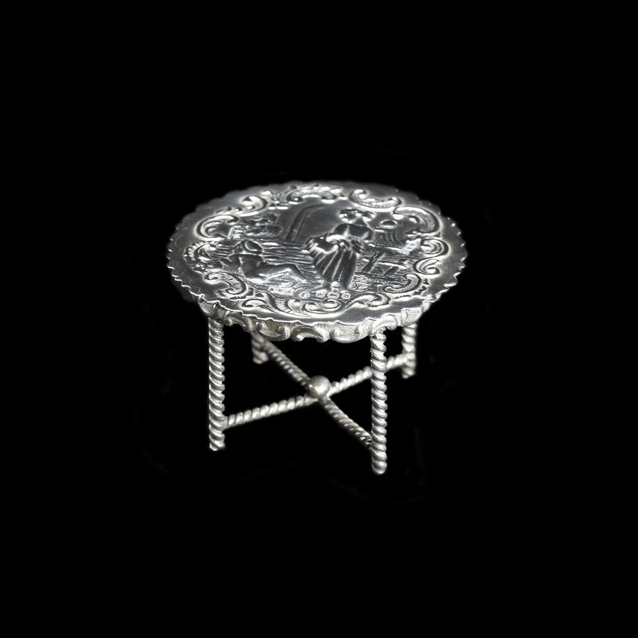 Dutch Silver Miniature Table