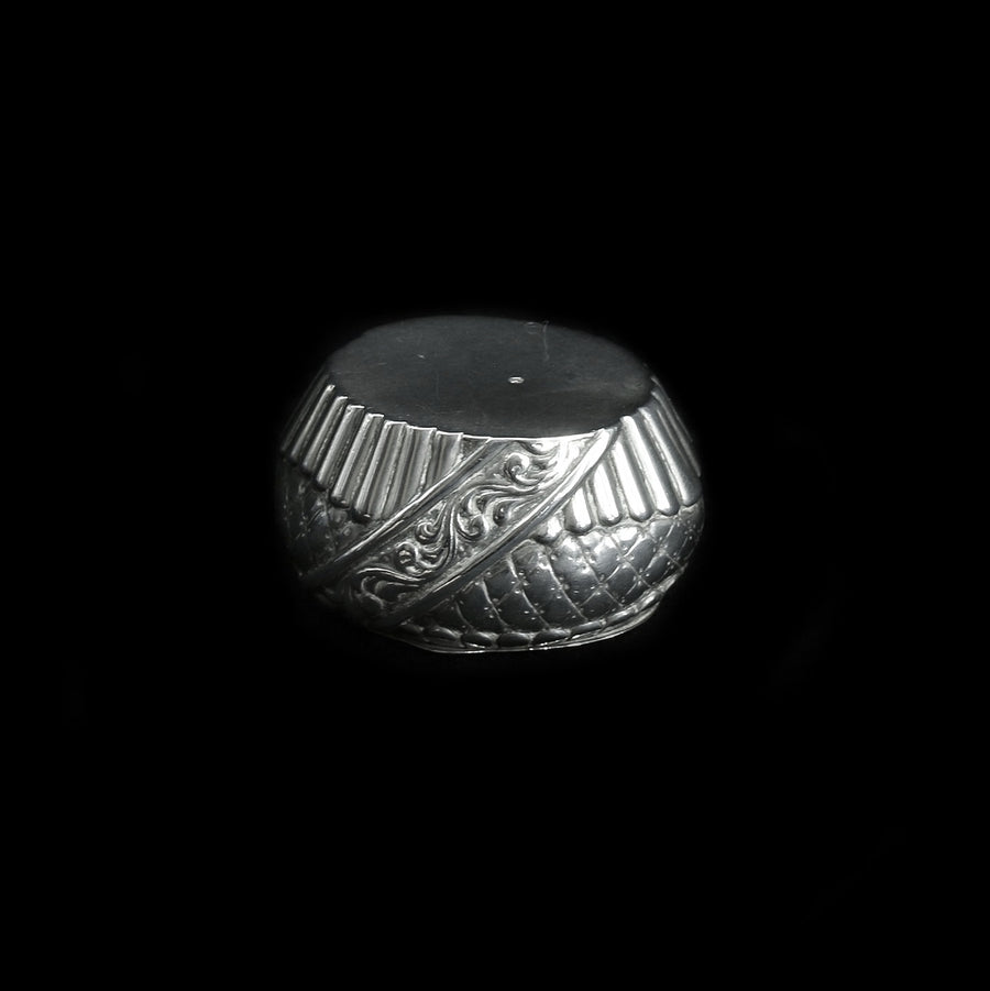 Continental Silver Pill Box