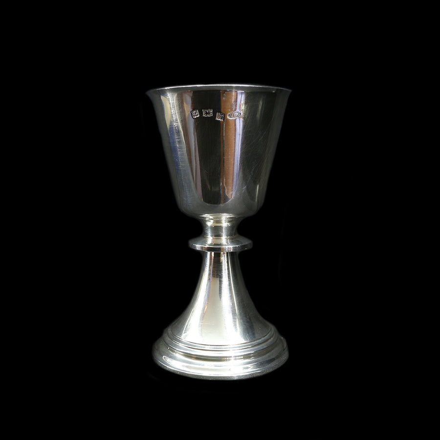 Sterling Silver Heavy Goblet