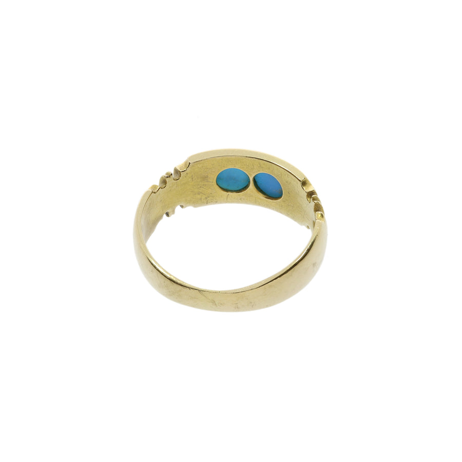 Chester Hallmark Turquoise Ring