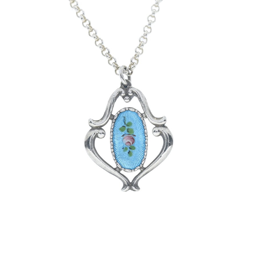 Charles Horner Enamel Necklace