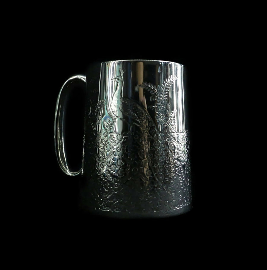 Victorian Engraved Tankard