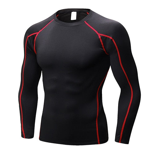 LINEAL SPORT NEGRO CON LINEAS ROJAS