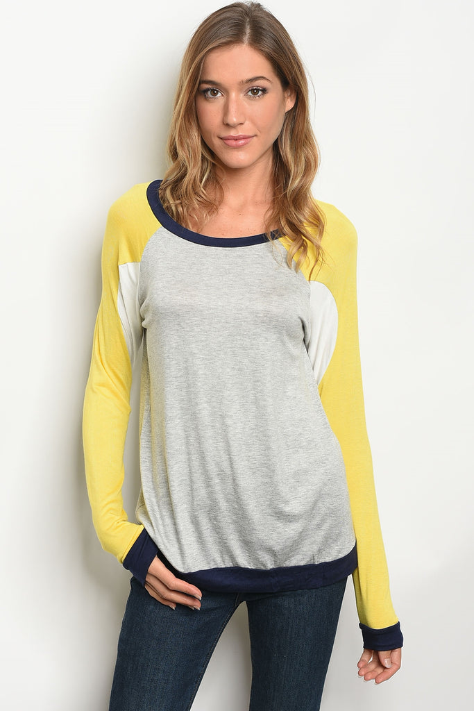 Step Into Fall Long Sleeve Top