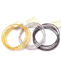 Layering Bangle Set 8 Pcs