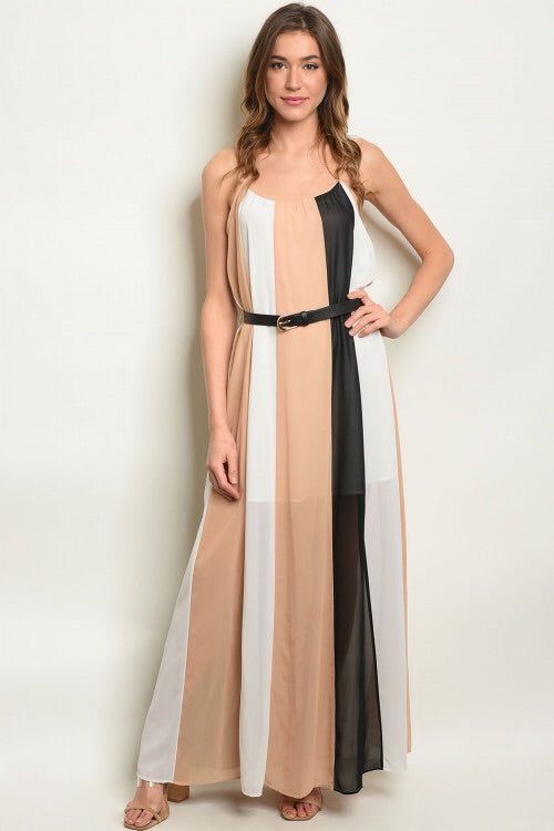 Sweet Sunshine Tan Maxi Dress