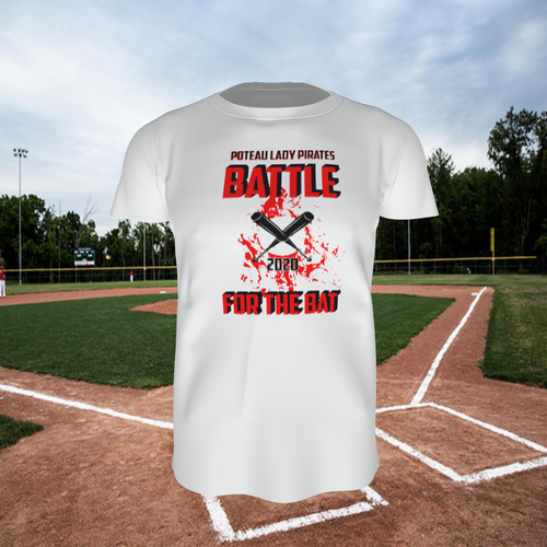 Battle for the Bat - Tee