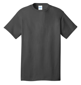 Port & Company® Core Cotton Tee- PC54 Charcoal Printed 1 Color