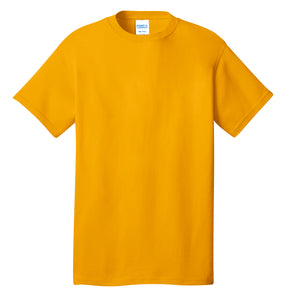 Port & Company® Core Cotton Tee- PC54 Gold Printed 1 Color