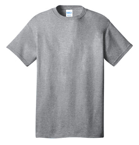 Port & Company® Core Cotton Tee- PC54 Athletic Heather Printed 1 Color