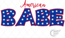 Load image into Gallery viewer, American Babe- PNG