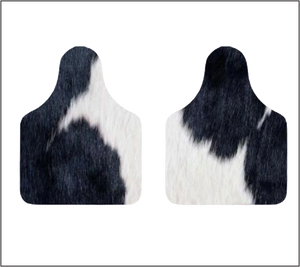 Cow tag shape
