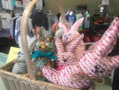 Cloth Bunnies Home Sewn