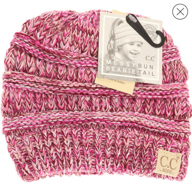 Kids Messy Beanie CC Beanie-mb816kids