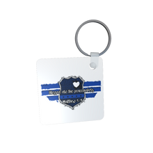 Load image into Gallery viewer, Thin Blue Line  Key Chain