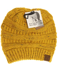 Load image into Gallery viewer, Flecked Beanie Tail CC Beanie