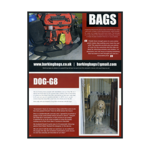 Paws For Thought - Dog Safety Gate - Dog-G8