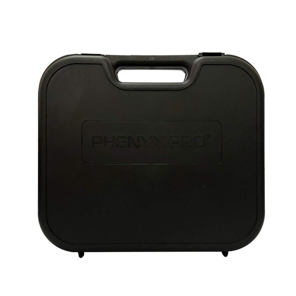 Phenyx Pro Wireless In Ear Monitor System Hard Case with Foam for PTM-10 IEM System