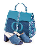 The Colle Mules in Blue - FULANI
