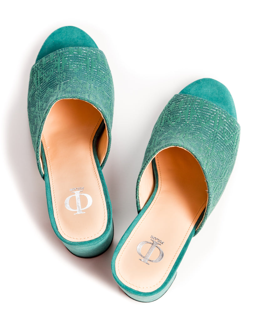 The Colle Mules in Green - FULANI