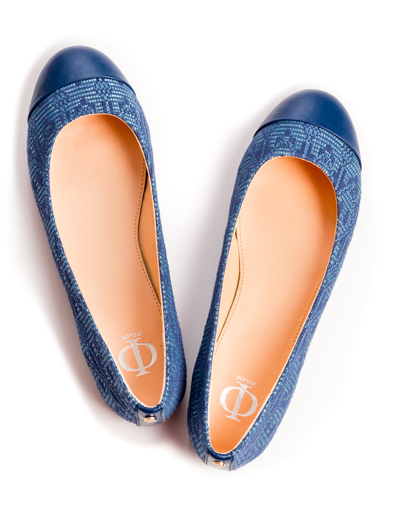 The Camissa Ballet in Dark Blue - FULANI