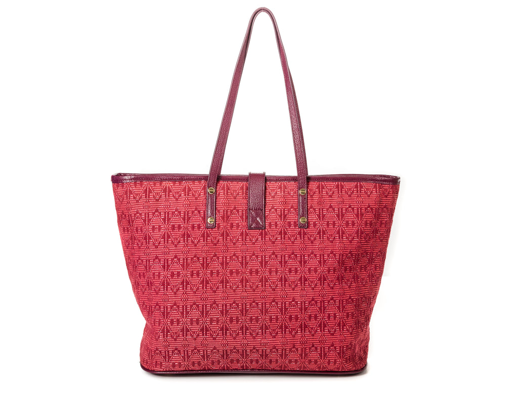The Amy Tote burgundy - FULANI