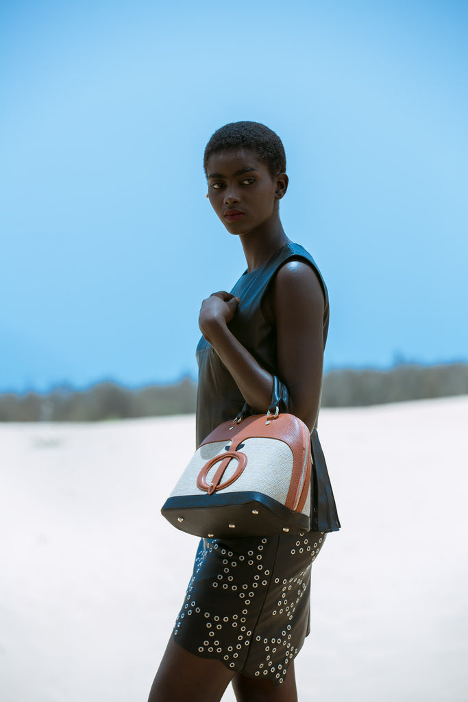 The brown Dorine bag - FULANI