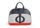 The black Dorine bag - FULANI