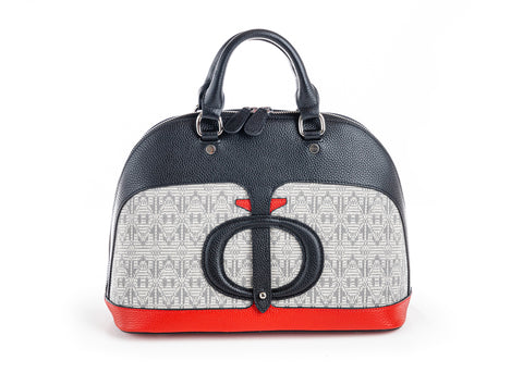 The Safia Satchel Black