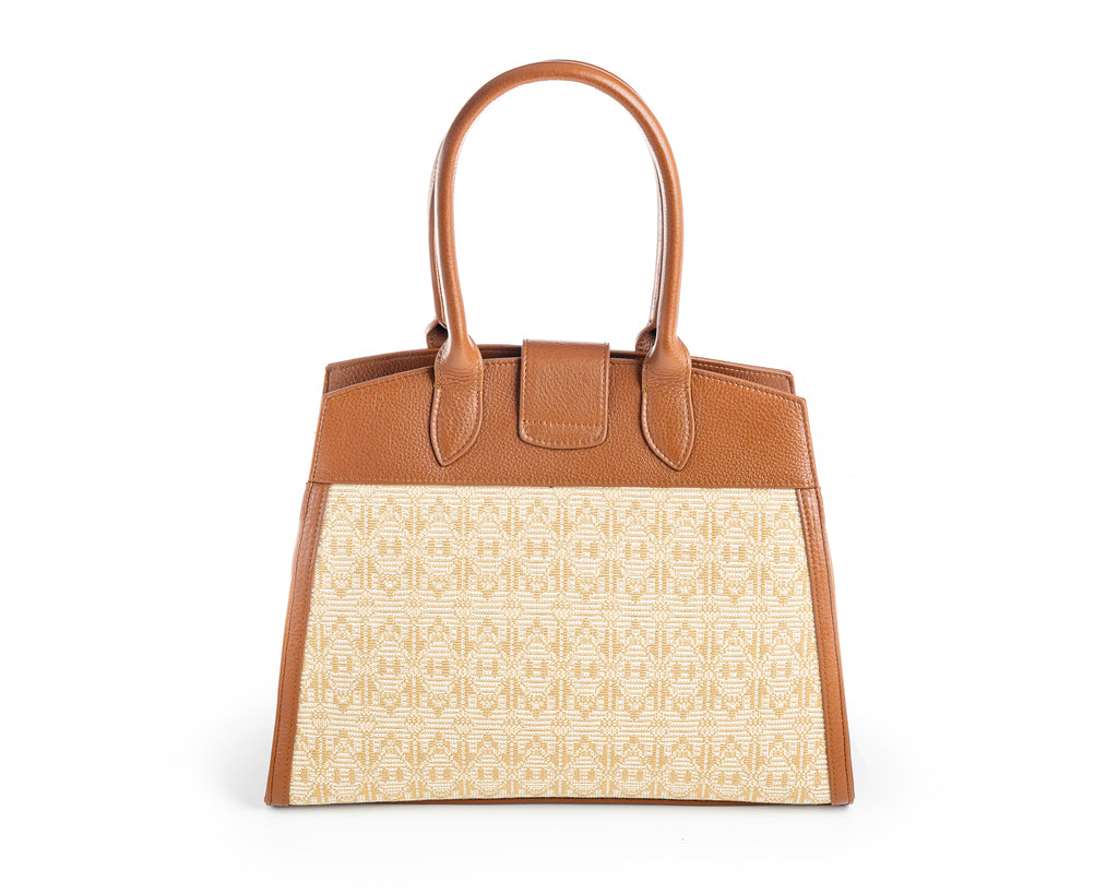 The brown Folly shoulder bag - FULANI