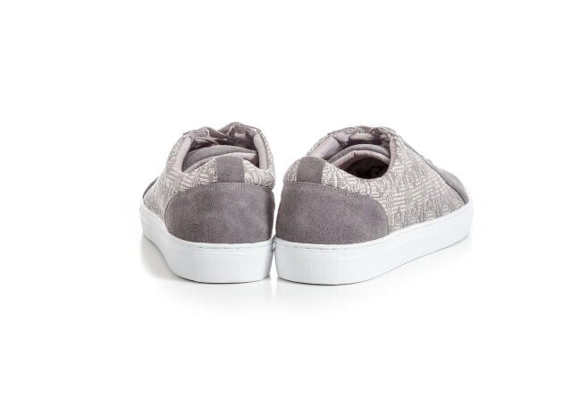 Grey Alpha Sneakers - FULANI