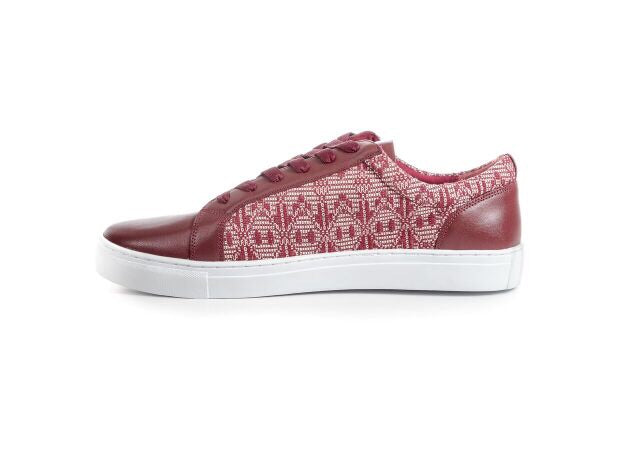 Burgundy Alpha Sneakers - FULANI