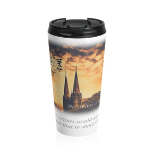 'THE SHAWL OF GOLD' Digital Download* + Quote Travel Mug Bundle