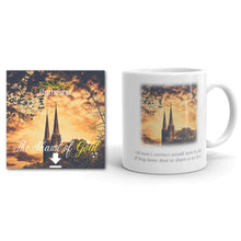 Load image into Gallery viewer, 'THE SHAWL OF GOLD' Digital Download* + Quote Mug Bundle