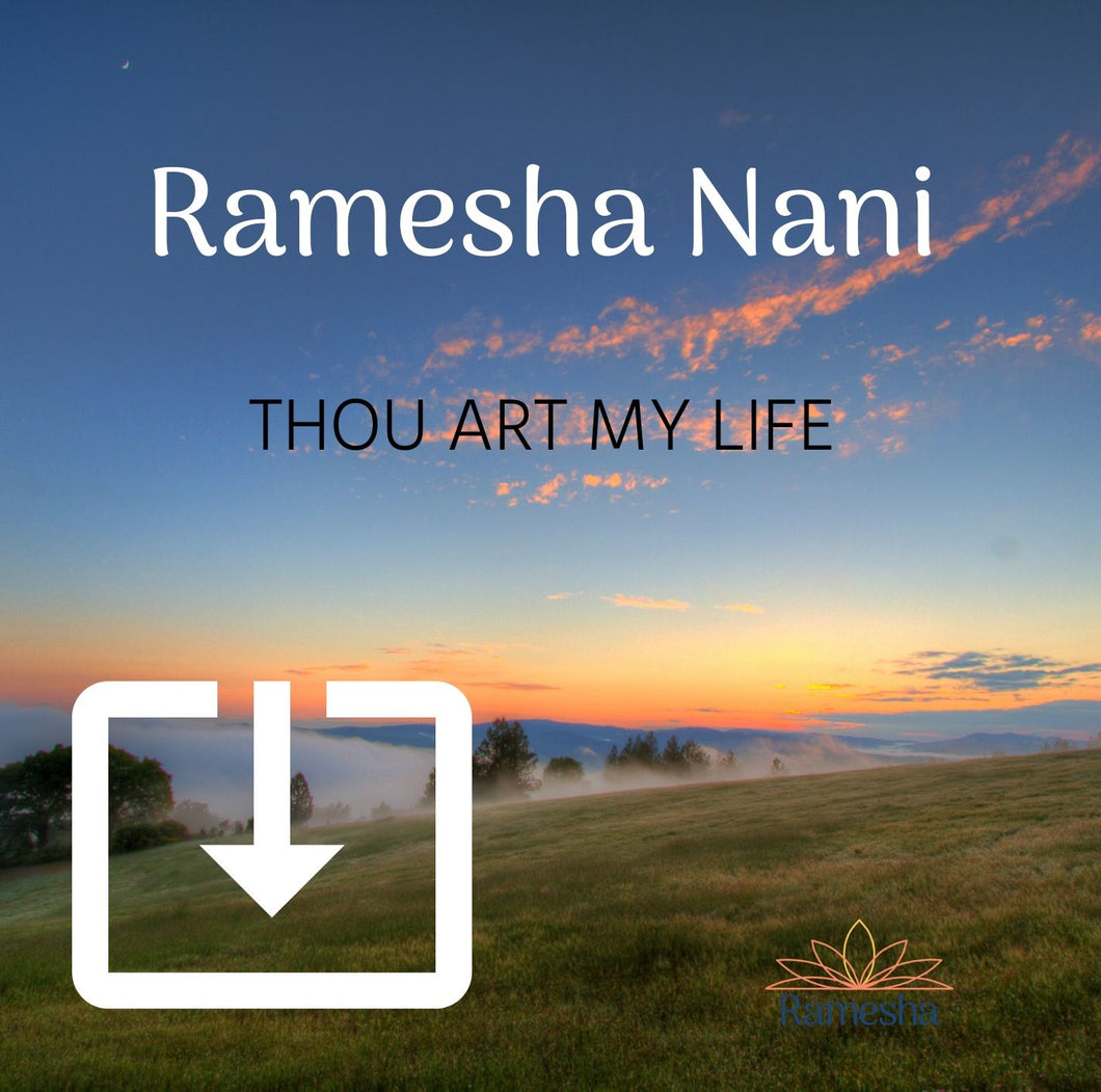 'THOU ART MY LIFE' - Digital Download