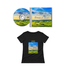 Load image into Gallery viewer, 'BREEZE OF BLISS' - CD + Ladies T-Shirt Bundle