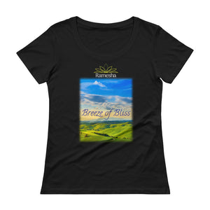 'BREEZE OF BLISS' LADIES T-SHIRT