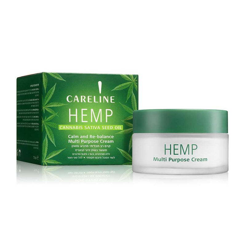Careline Hemp Multipurpose Cream, 50ml