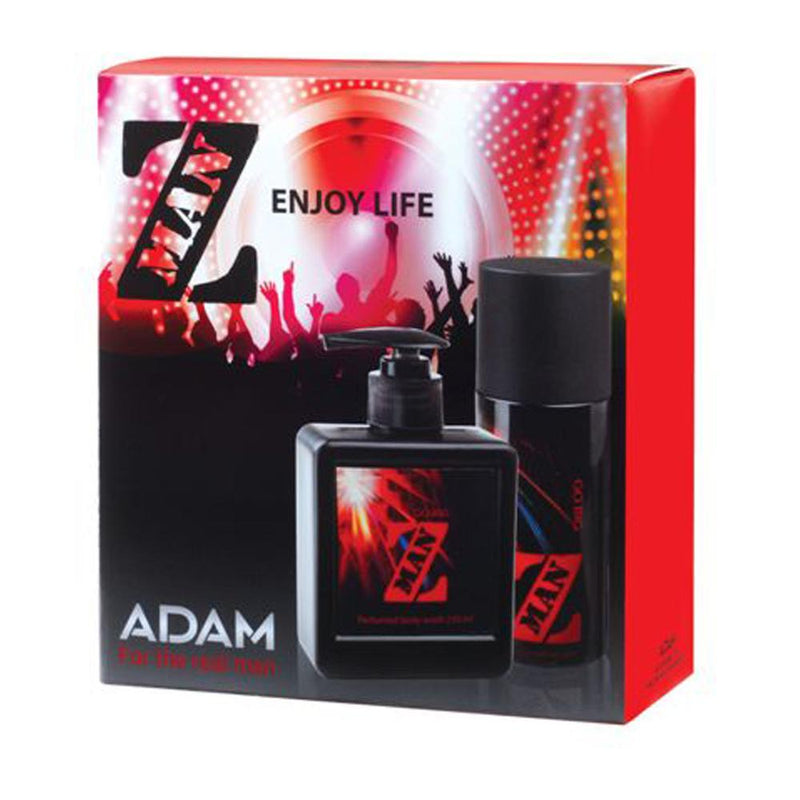 Adam Z-Man Go Big Body Spray 150ml + Shower Gel 250ml