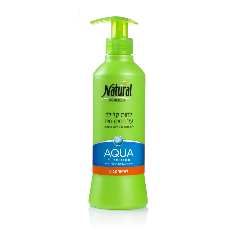Natural Formula Aqua So Shiny Light Moist for Colored hair 400ml