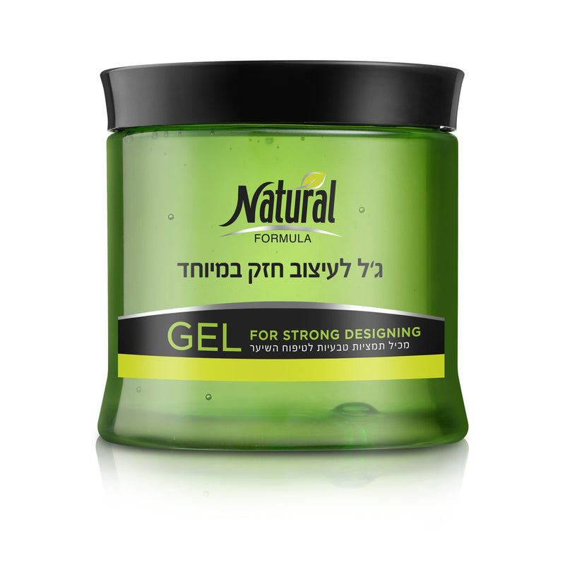 Natural Formula Gel Go Create Strong Styling 500ml