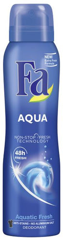 Fa Aqua Deodorant Spray 150ml