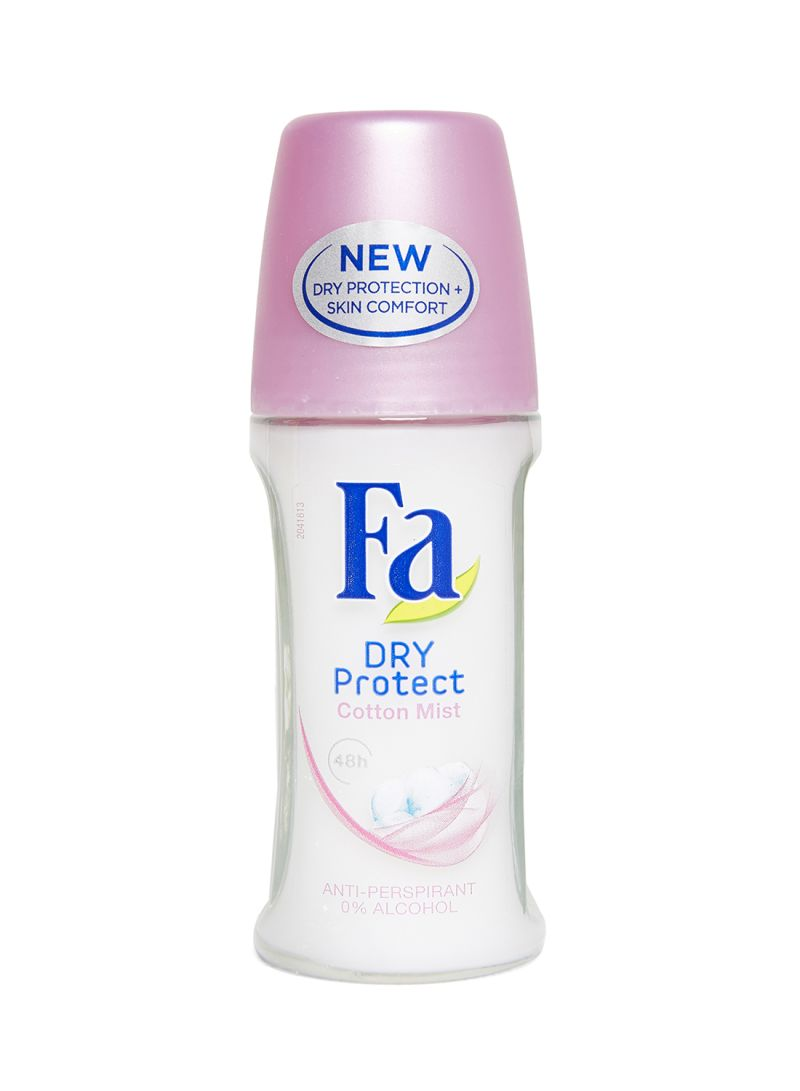 Fa Dry Protect Cotton Roll On Deodorant, 50ml