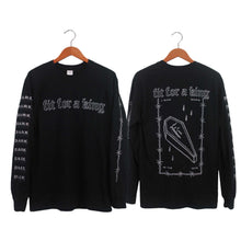 Load image into Gallery viewer, Dark Skies Black Long Sleeve Shirt