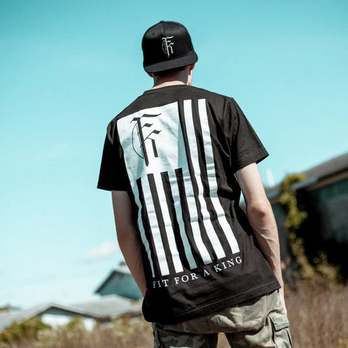 Flag Black T-Shirt