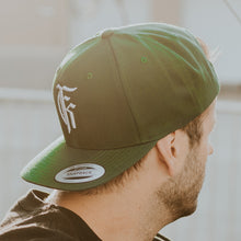 Load image into Gallery viewer, Icon Logo Forest Green Snapback Hat