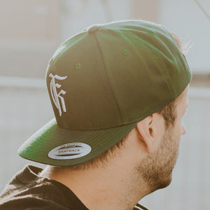 Icon Logo Forest Green Snapback Hat