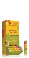 Alba Hawaiian Coconut Cream Lip Balm at The Nature of Beauty