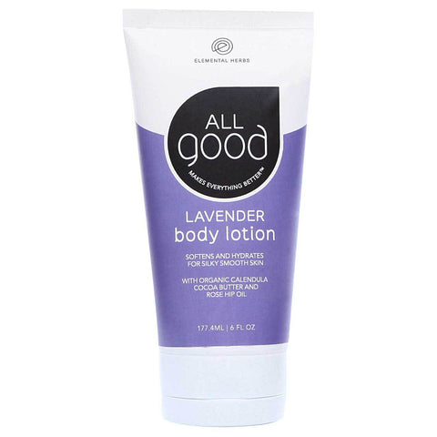Elemental Herbs All Good Body Lotion Lavender