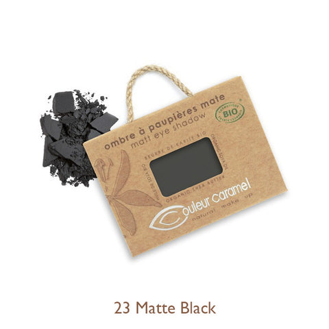 Couleur Caramel Matte Eyeshadow 23 Black